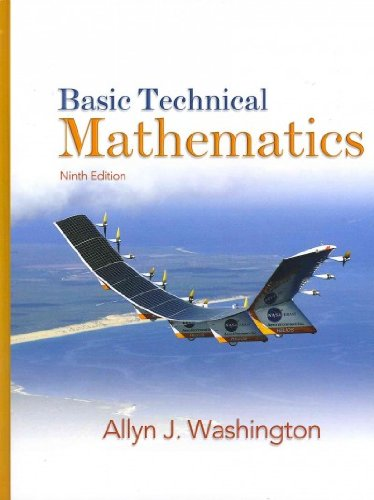 9780135101995: Basic Technical Mathematics with Student Solutions Manual and MyMathLab (9th Edition)