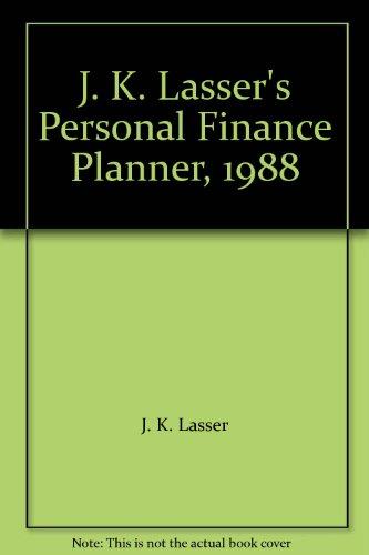 9780135105047: J. K. Lasser's Personal Finance Planner, 1988