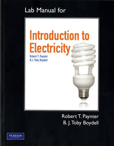 9780135106228: Lab Manual for Introduction to Electricity