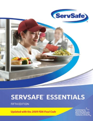 9780135107430: ServSafe Essentials with AnswerSheet Update with 2009 FDA Food Code (5th Edition) (MyServSafeLab Series)