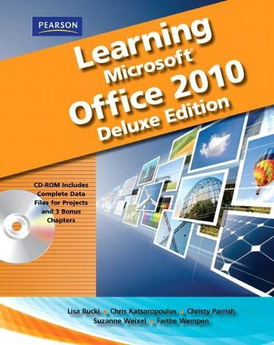 9780135108383: Learning Microsoft Office 2010 Deluxe, Student Edition -- CTE/School