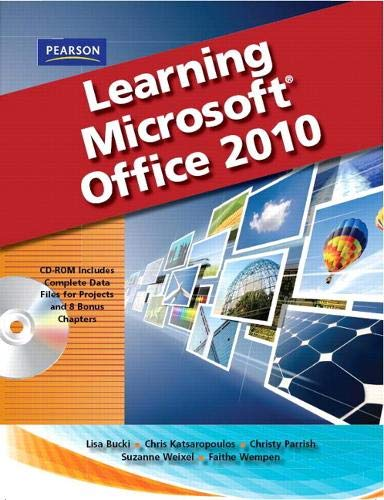 9780135109120: Learning Microsoft Office 2010, Standard Student Edition -- CTE/School