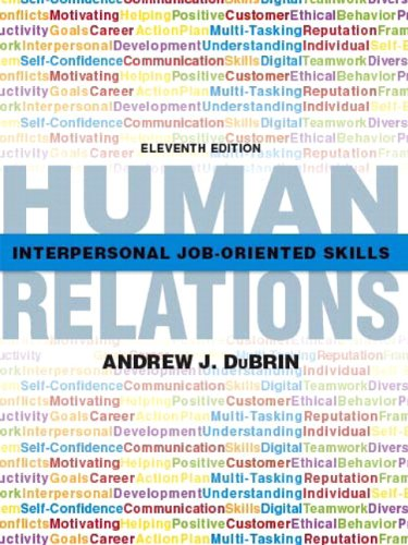 9780135109410: Human Relations: Interpersonal Job-Oriented Skills (11th Edition)