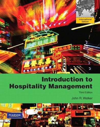 9780135109519: Introduction to Hospitality Management