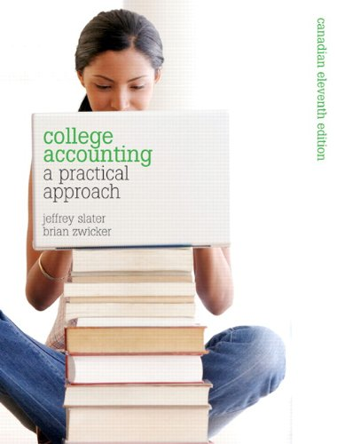 9780135111321: College Accounting- a practical approach