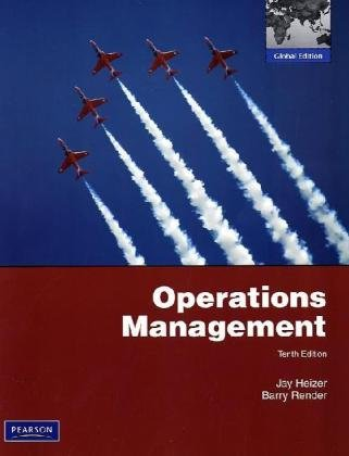 9780135111437: Operations Management