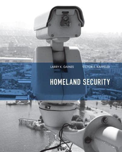 9780135111925: Homeland Security