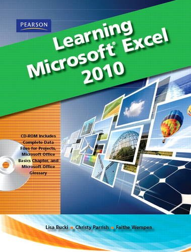 9780135112106: Learning Microsoft Office Excel 2010, Student Edition