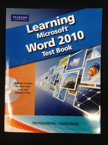 Learning Microsoft Word 2010 - Test Bank