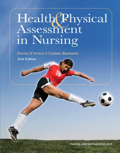 9780135114155: Health & Physical Assessment in Nursing (2nd Edition)