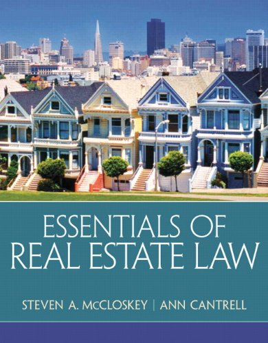 9780135114285: Essentials of Real Estate Law