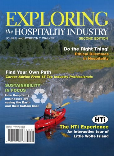 9780135118856: Exploring the Hospitality Industry (2nd Edition)