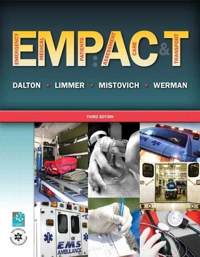 9780135119143: Emergency Medical Patients: Assessment, Care, and Transport