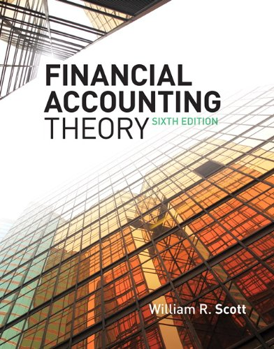 9780135119150: Financial Accounting Theory (6th Edition)