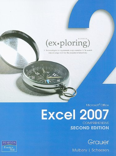 9780135119808: Exploring Microsoft Office Excel 2007 Comprehensive (2nd Edition)