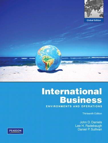 9780135119952: International Business: Economics and Operations