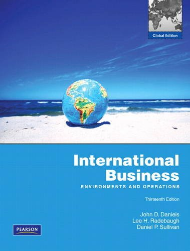 9780135119952: International Business: Environments and Operations