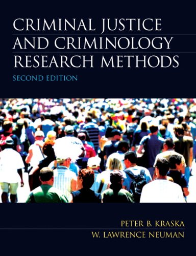 9780135120088: Criminal Justice and Criminology Research Methods (2nd Edition)