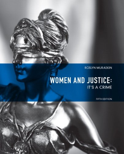 9780135120897: Women and Justice: It's a Crime (5th Edition)