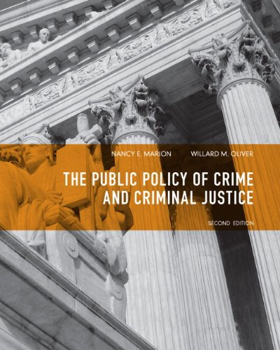 9780135120989: Public Policy of Crime and Criminal Justice (2nd Edition)