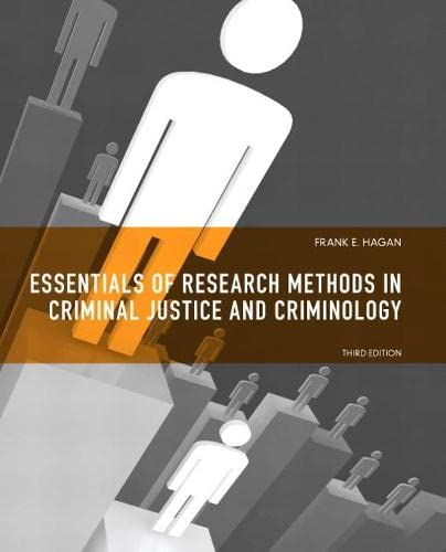 9780135121009: Essentials of Research Methods for Criminal Justice (3rd Edition)