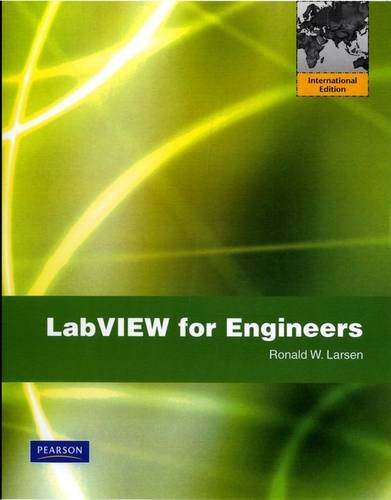 9780135121405: LabVIEW for Engineers: International Edition
