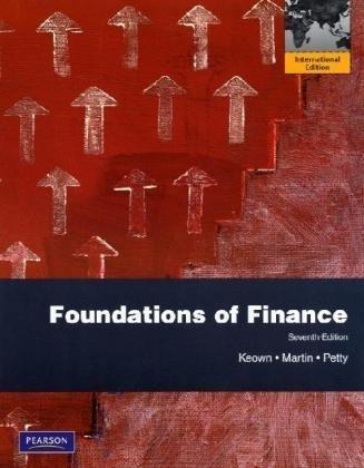 9780135122365: Foundations of Finance: International Edition