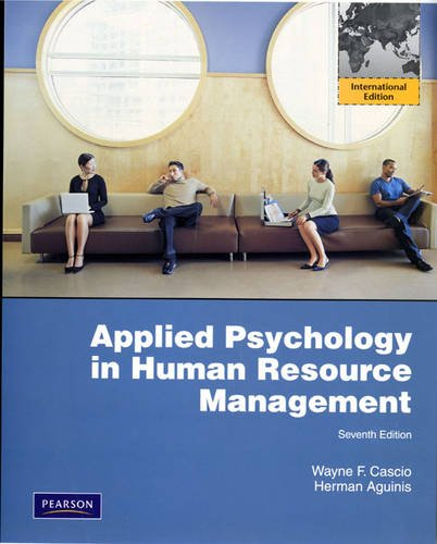 9780135125663: Applied Psychology in Human Resource Management: International Edition