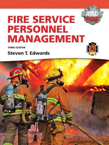 9780135126776: Fire Service Personnel Management with MyFireKit (Brady Fire)