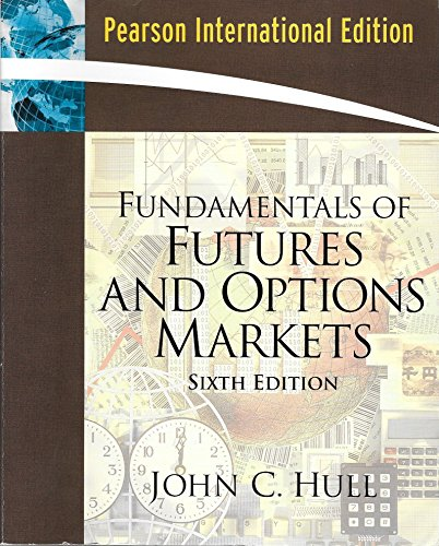 9780135127018: Fundamentals of Futures and Options markets (international edition) Edition: sixth