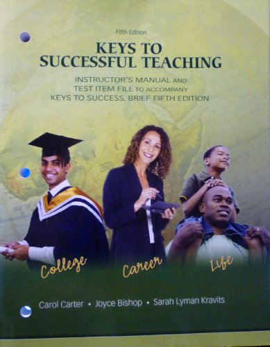 9780135128473: Keys to Successful Teaching, Fifth Edition (Instructor's Manual and Test File)
