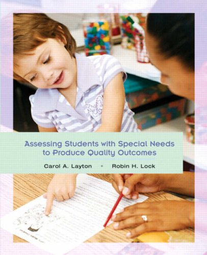 9780135131596: Assessing Students with Special Needs to Produce Quality Outcomes