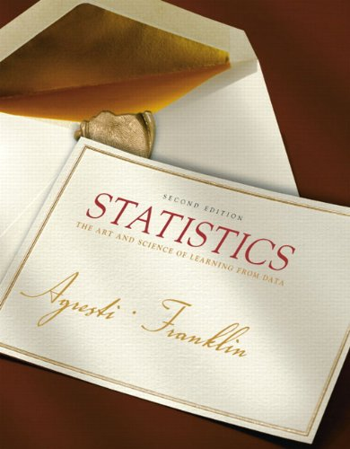 9780135131992: Statistics: The Art and Science of Learning from Data (2nd Edition)