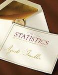 Statistics Instructor's Solutions Manual: Sarah Streett