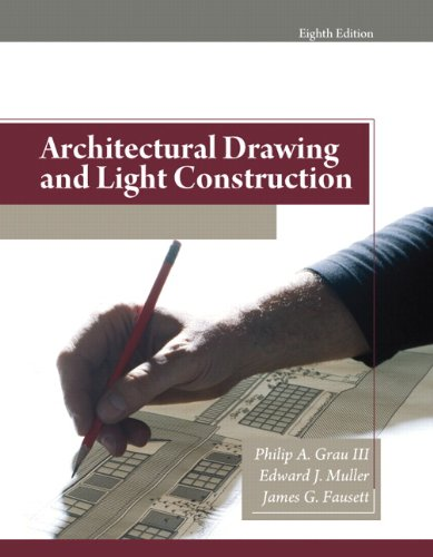 9780135132159: Architectural Drawing and Light Construction (8th Edition)