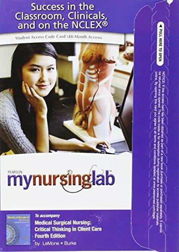 MyNursingLab -- Access Card -- for Medical: LeMone, Priscilla