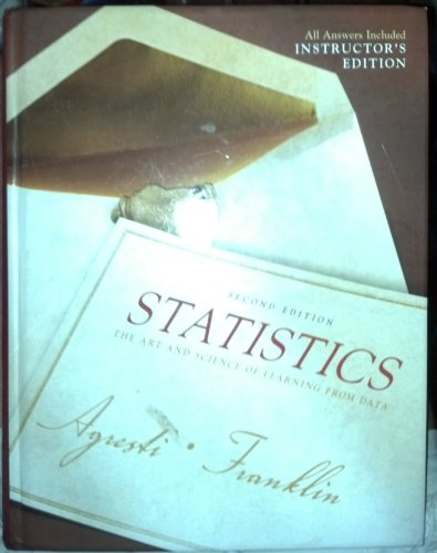 9780135132401: Statistics: The Art and Science of Learning from Data (Instructor's Edition) Edition: Second