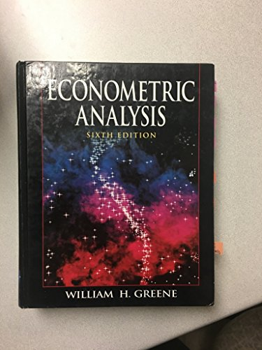 9780135132456: Econometric Analysis