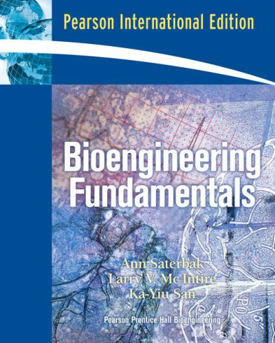 9780135132586: Bioengineering Fundamentals:International Edition