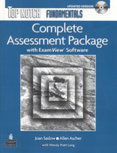 9780135133132: Top Notch Fundamentals Complete Assessment Package with ExamView Software (Updated Version)