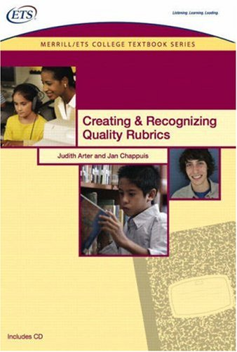 9780135134207: Creating and Recognizing Quality Rubrics