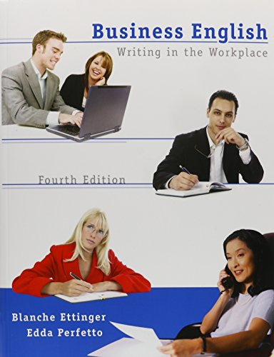9780135134368: Business English: Writing in the Workplace, 4th Edition
