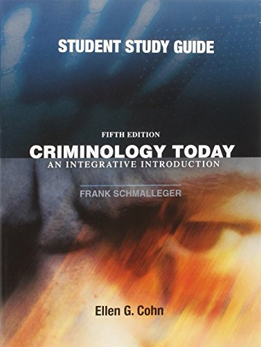 introduction to criminology study guide Study crime, justice, and society: an introduction to criminology discussion and chapter questions and find crime, justice, and society: an introduction to criminology study guide questions and answers.