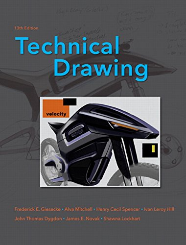 9780135135273: Technical Drawing (13th Edition)