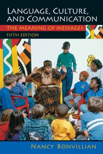 9780135135686: Language, Culture, and Communication: The Meaning of Messages (5th Edition)