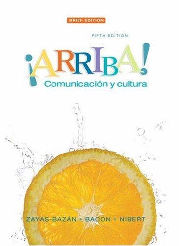 9780135136355: Arriba: Comunicacion y cultura Brief Edition (5th Edition)