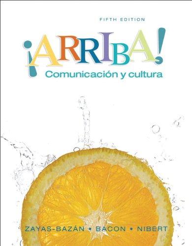 9780135136362: Arriba: Comunicacion y Cultura