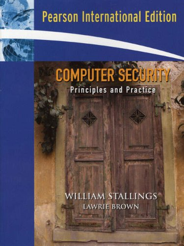 9780135137116: Computer Security: Principles and Practice: United States Edition