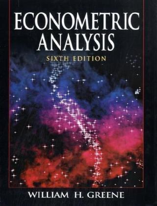 9780135137406: Econometric Analysis: International Edition