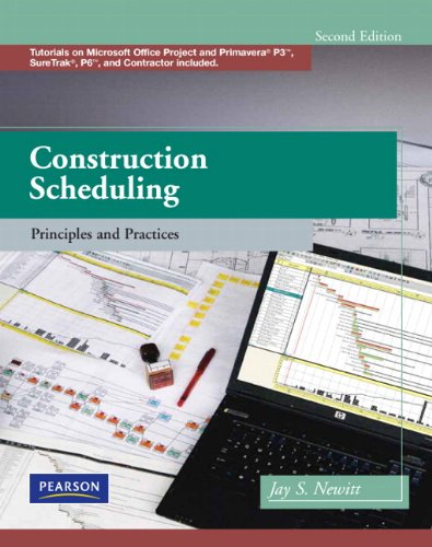 9780135137826: Construction Scheduling: Principles and Practices (2nd Edition)